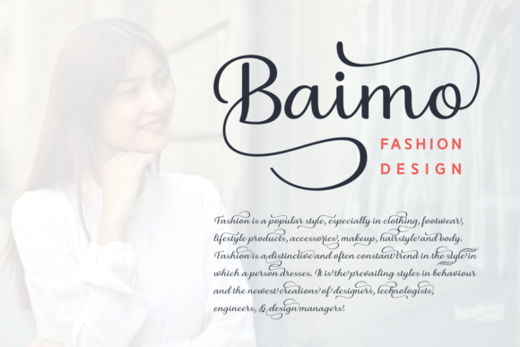 Print on Demand: Briany Script & Handwritten Font By Andrian Dehasta - Image 4