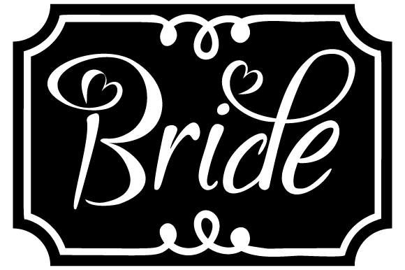 Bride Wedding Craft Cut File By Creative Fabrica Crafts