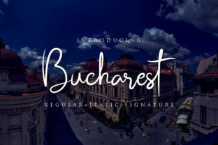 Bucharest Script & Handwritten Font By Bluestudio