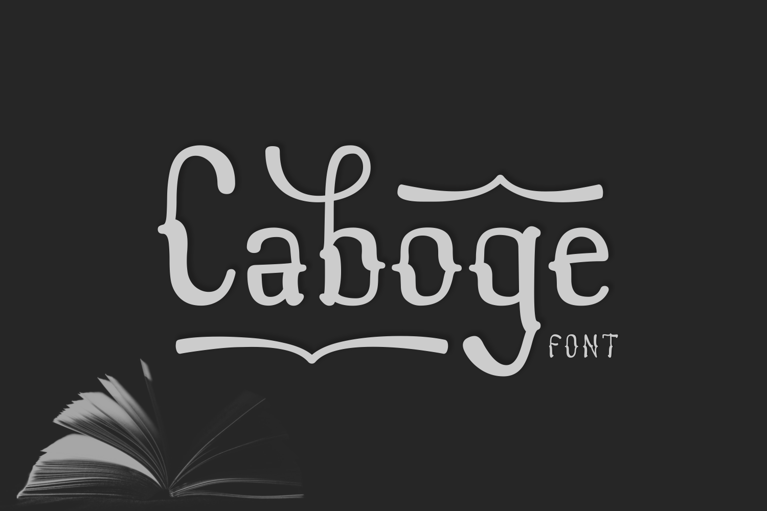 Print on Demand: Caboge Display Font By Omus (7ntypes)