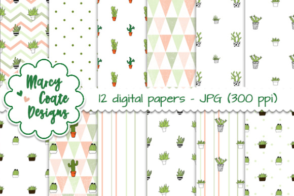 Download Free Cactus Backgrounds Graphic By Marcycoatedesigns Creative Fabrica for Cricut Explore, Silhouette and other cutting machines.
