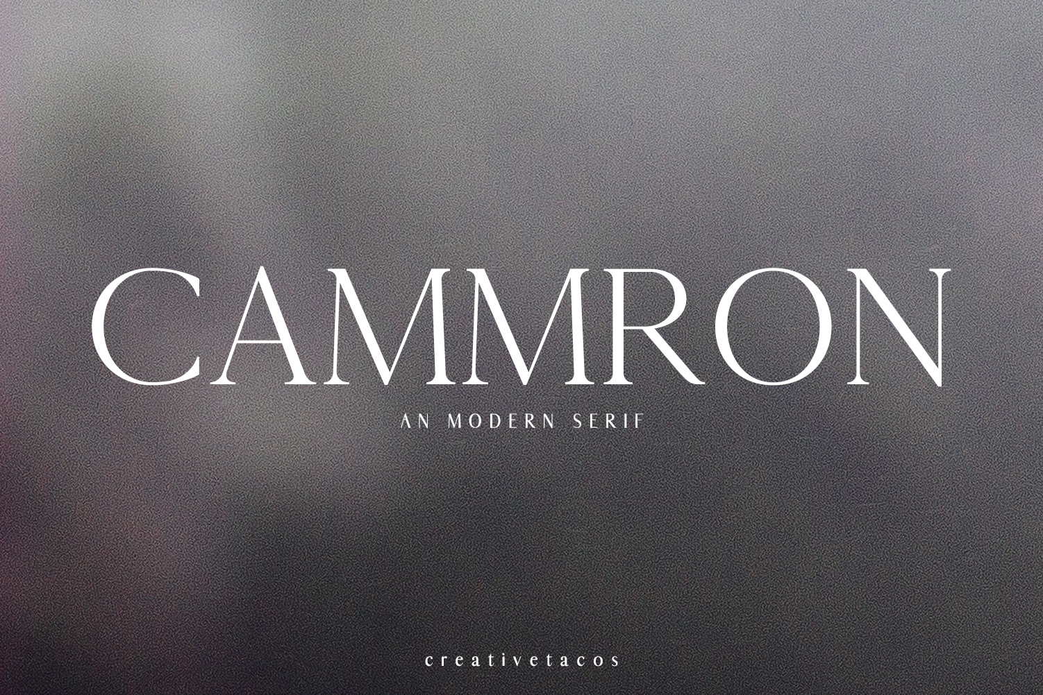 Cammron Font By Creative Tacos