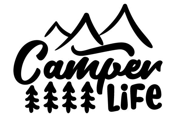 Download Free Camper Life Svg Cut File By Creative Fabrica Crafts Creative for Cricut Explore, Silhouette and other cutting machines.