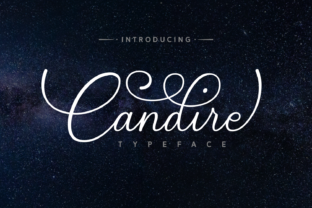 Candire Font By Andrian Dehasta