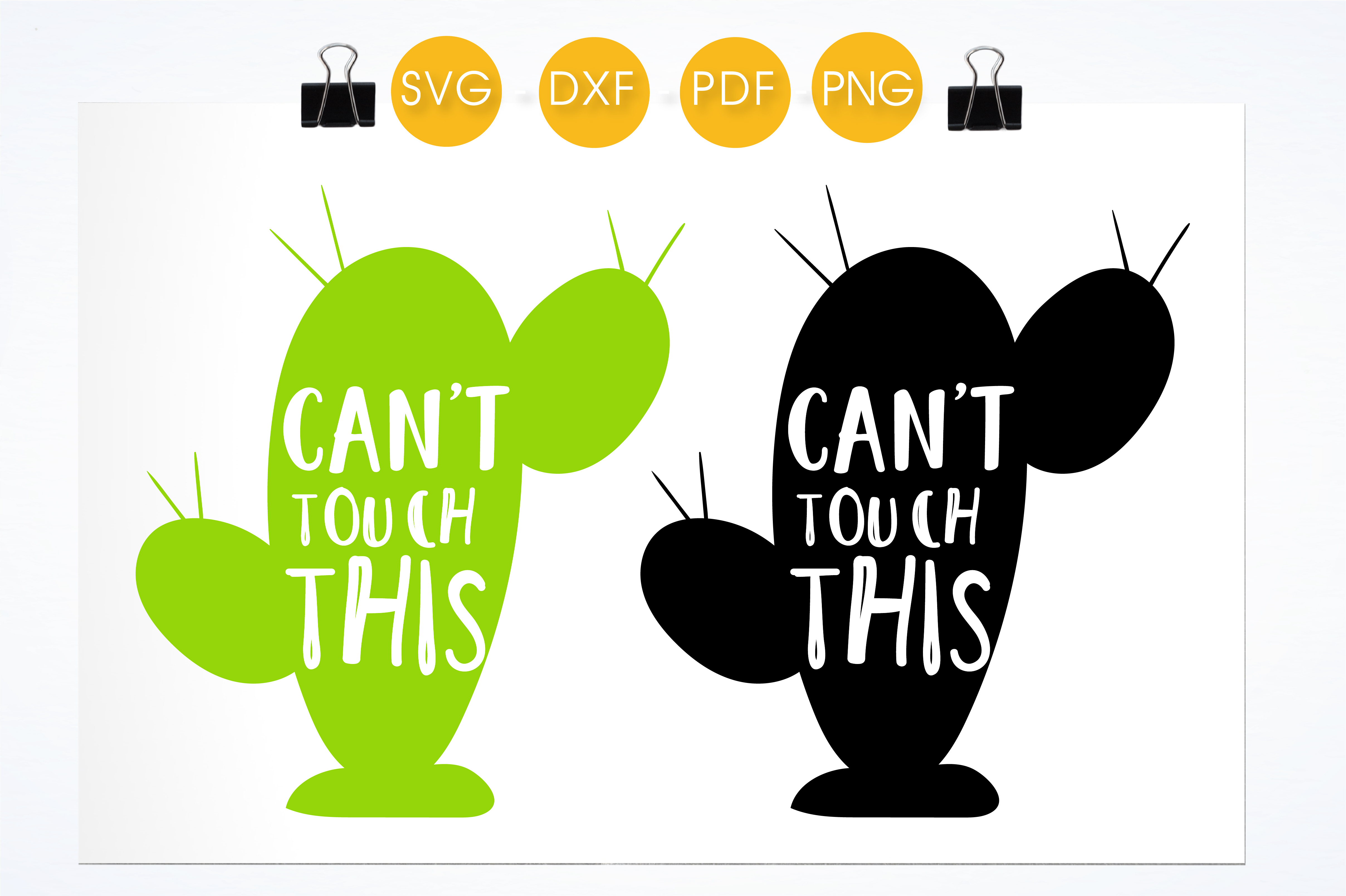 Can't Touch This! Graphic Crafts By PrettyCuttables - Image 2