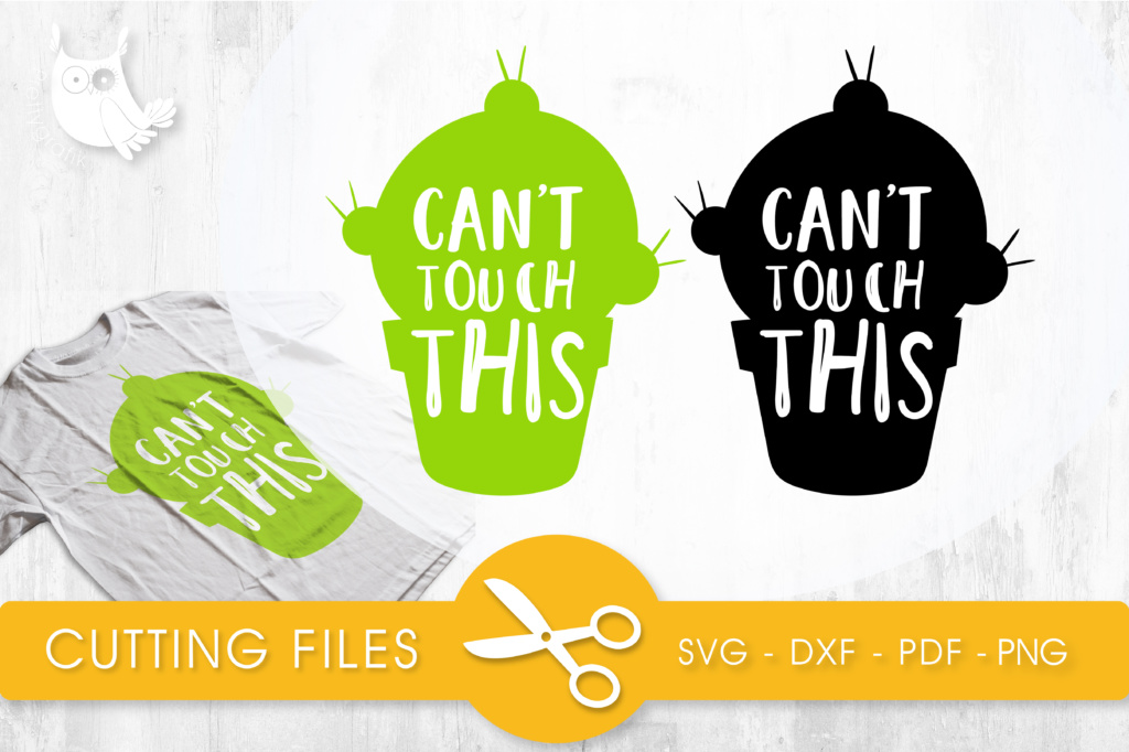 Download Free Can T Touch This Grafik Von Prettycuttables Creative Fabrica for Cricut Explore, Silhouette and other cutting machines.