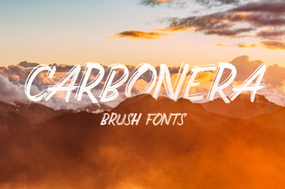 Print on Demand: Carbonera Display Font By Adam Fathony