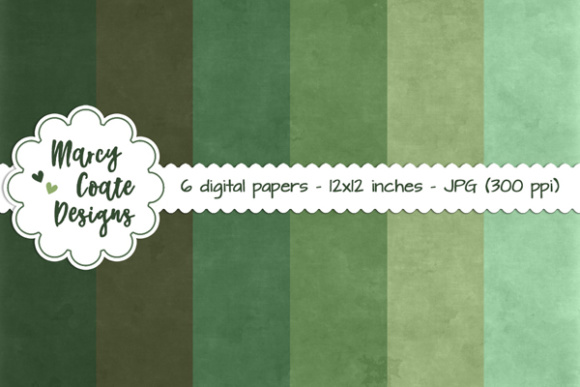 Chalkboard Backgrounds - Green Graphic Patterns By MarcyCoateDesigns
