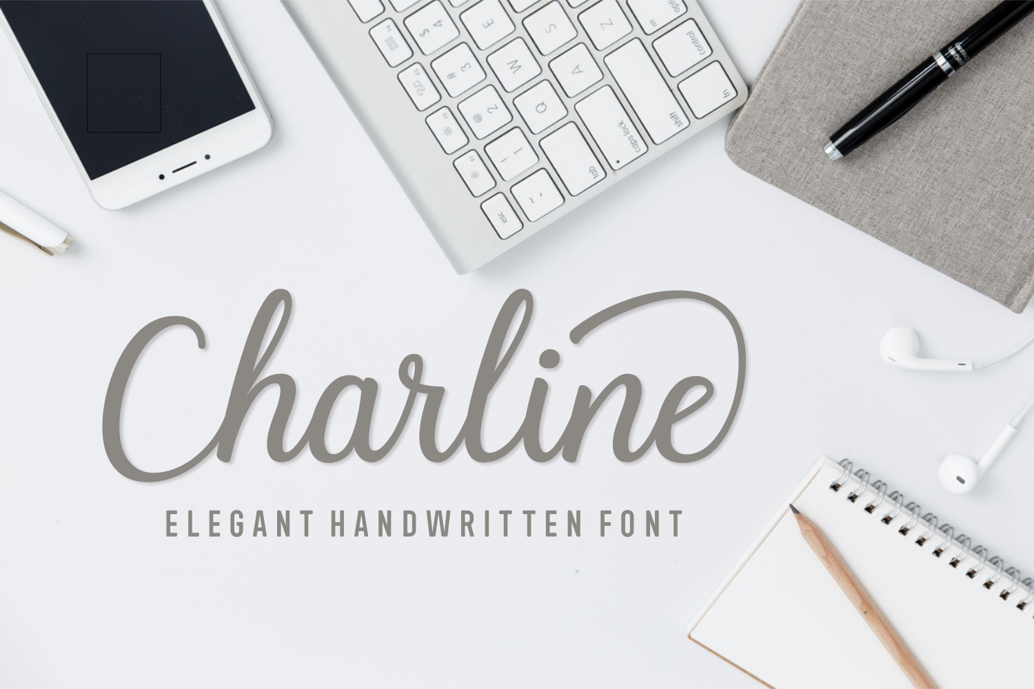 Print on Demand: Charline Script & Handwritten Font By Andrian Dehasta