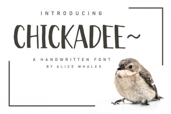 Print on Demand: Chickadee Sans Serif Font By NendesKombet