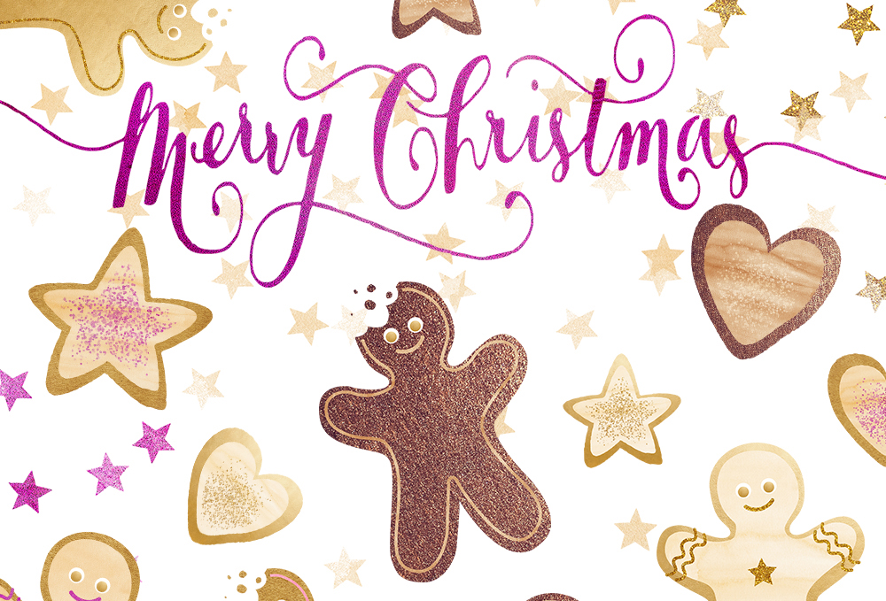 Download Free Christmas Gingerbread Cookie Clipart Set Graphic By for Cricut Explore, Silhouette and other cutting machines.