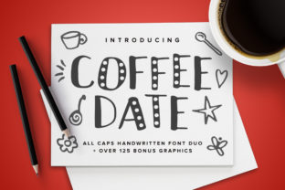 Coffee Date Font By Running With Foxes