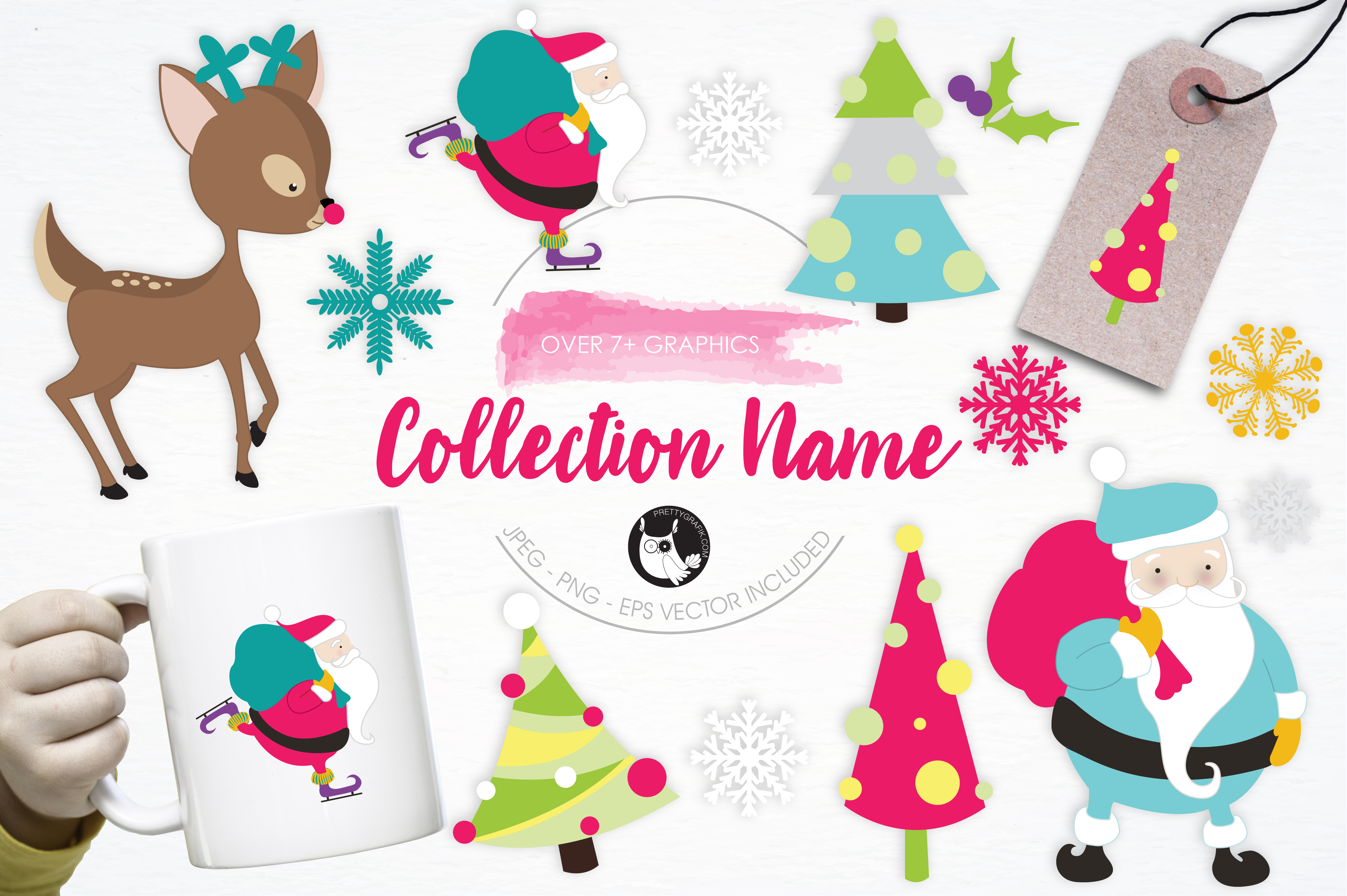 Download Free Collection Name Graphic By Prettygrafik Creative Fabrica for Cricut Explore, Silhouette and other cutting machines.