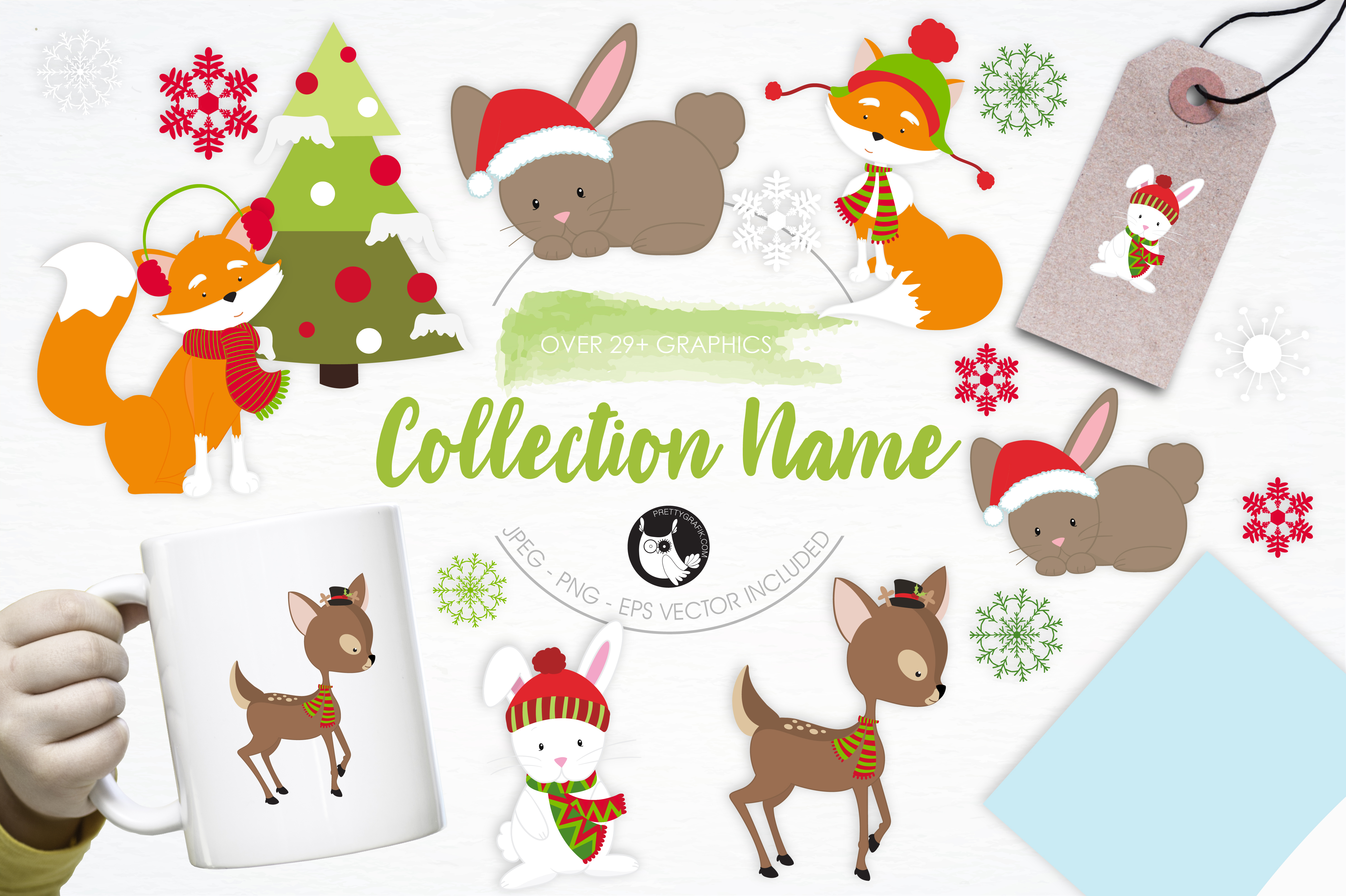 Print on Demand: Collection Name Graphic Illustrations By Prettygrafik