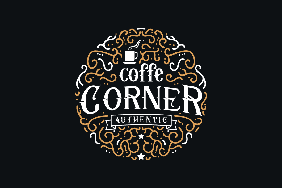 Print on Demand: Corner Stone Blackletter Font By yellowline - Image 4