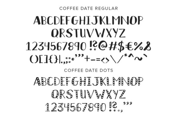 Print on Demand: Coffee Date Sans Serif Font By Running With Foxes - Image 8