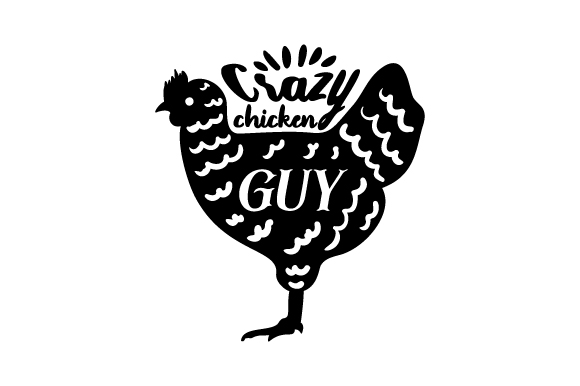 Download Free Crazy Chicken Guy Svg Cut File By Creative Fabrica Crafts for Cricut Explore, Silhouette and other cutting machines.