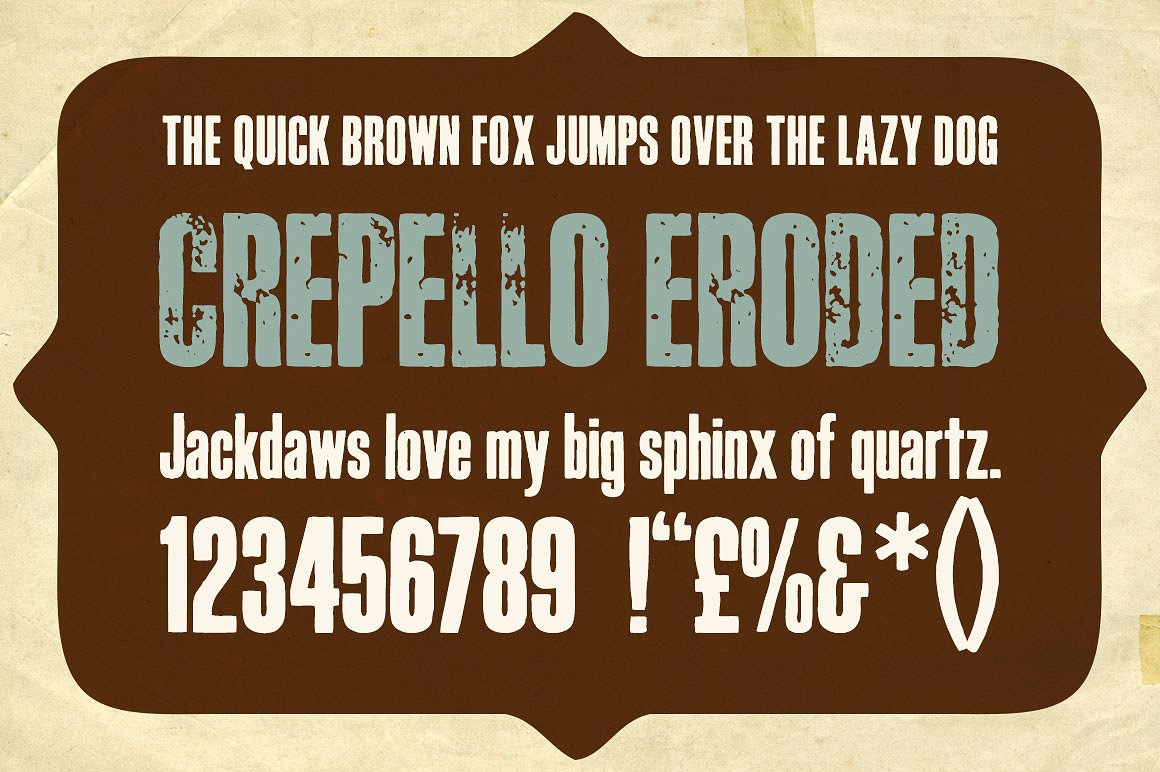 Print on Demand: Crepello Display Font By K22 Foundry - Image 2