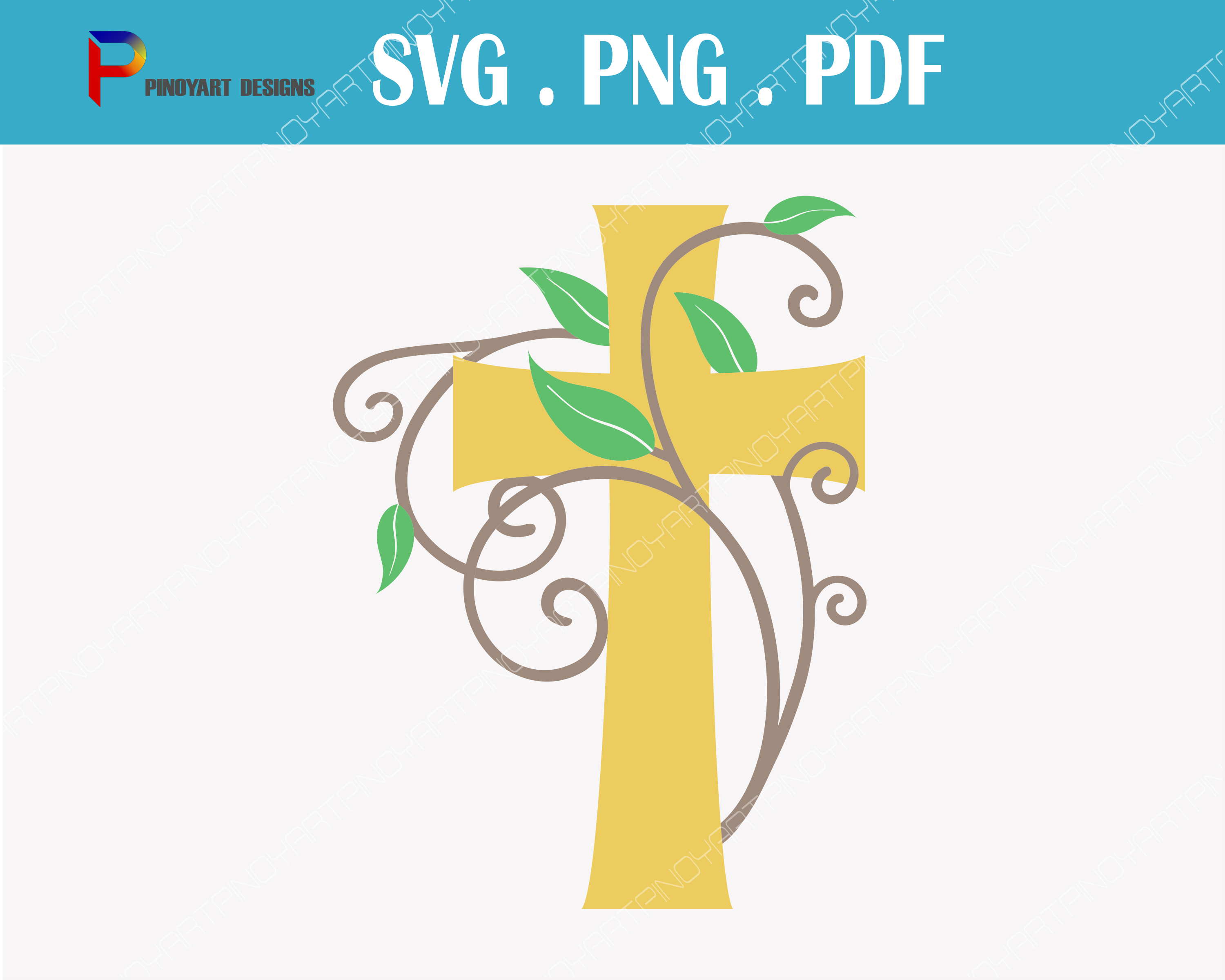 Cross Svg, Jesus Svg, Crucifix Svg, Jesus Svg File, Jesus Christ Svg, Cross Svg File, Svg, Svg Files for Cricut Graphic Crafts By Pinoyartkreatib