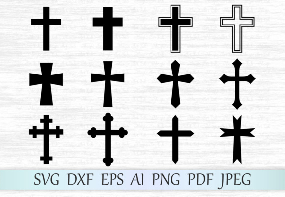 Crosses Graphic Crafts By MagicArtLab