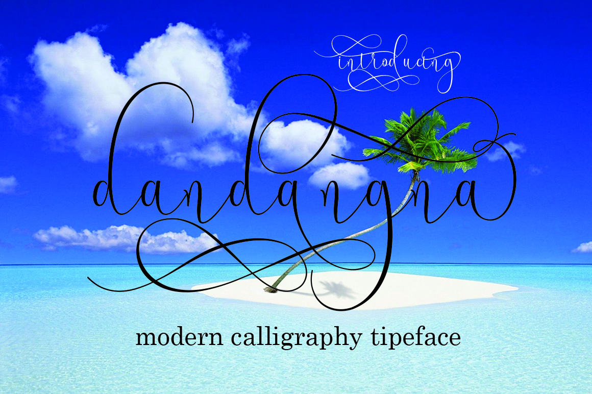 Print on Demand: Dandangna Script & Handwritten Font By naldystudio