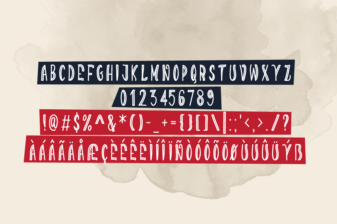 Print on Demand: Darkness Funking Display Font By Contour Fonts - Image 5