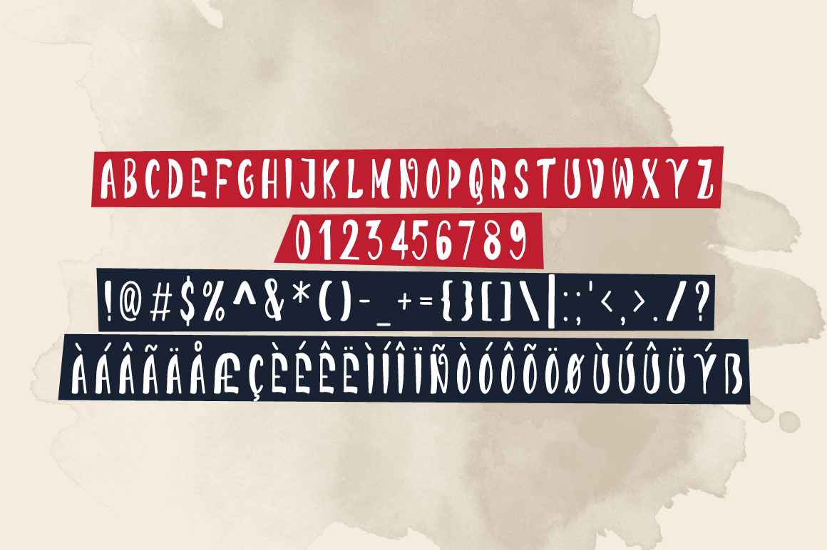 Print on Demand: Darkness Funking Display Font By Contour Fonts - Image 6