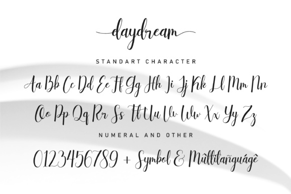 Print on Demand: Daydream Script & Handwritten Font By NendesKombet - Image 7