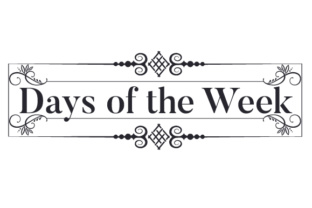 Days of the Week Craft Design By Creative Fabrica Crafts