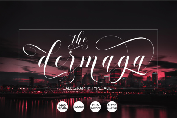 Print on Demand: Dermaga Script & Handwritten Font By naldystudio