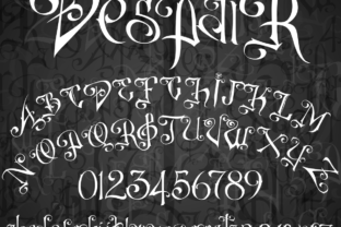 DespaiR Font By sabanovicid