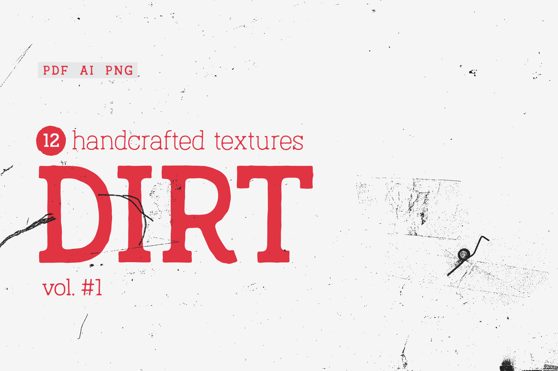 Print on Demand: Dirt Vol.#1 Texture Pack Graphic Textures By antipixel