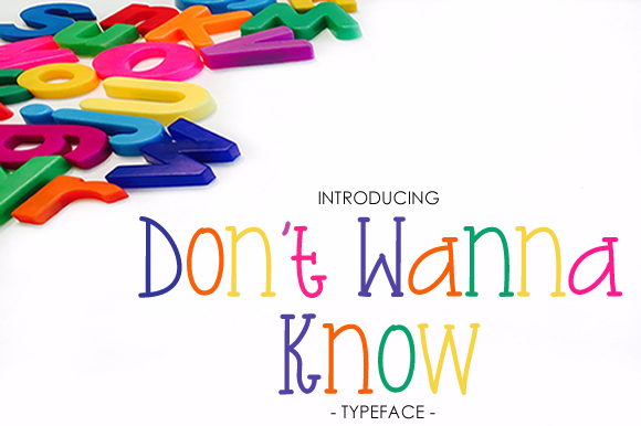 Print on Demand: Don't Wanna Know Script & Handwritten Font By yh.seaofknowledge