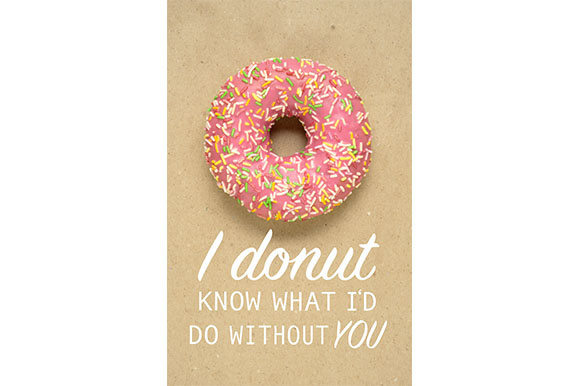 Donut Know Graphic Food & Drinks By Sasha_Brazhnik