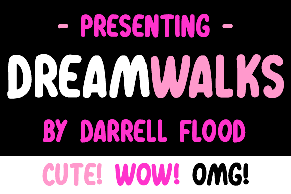 Print on Demand: Dreamwalks Script & Handwritten Font By Dadiomouse