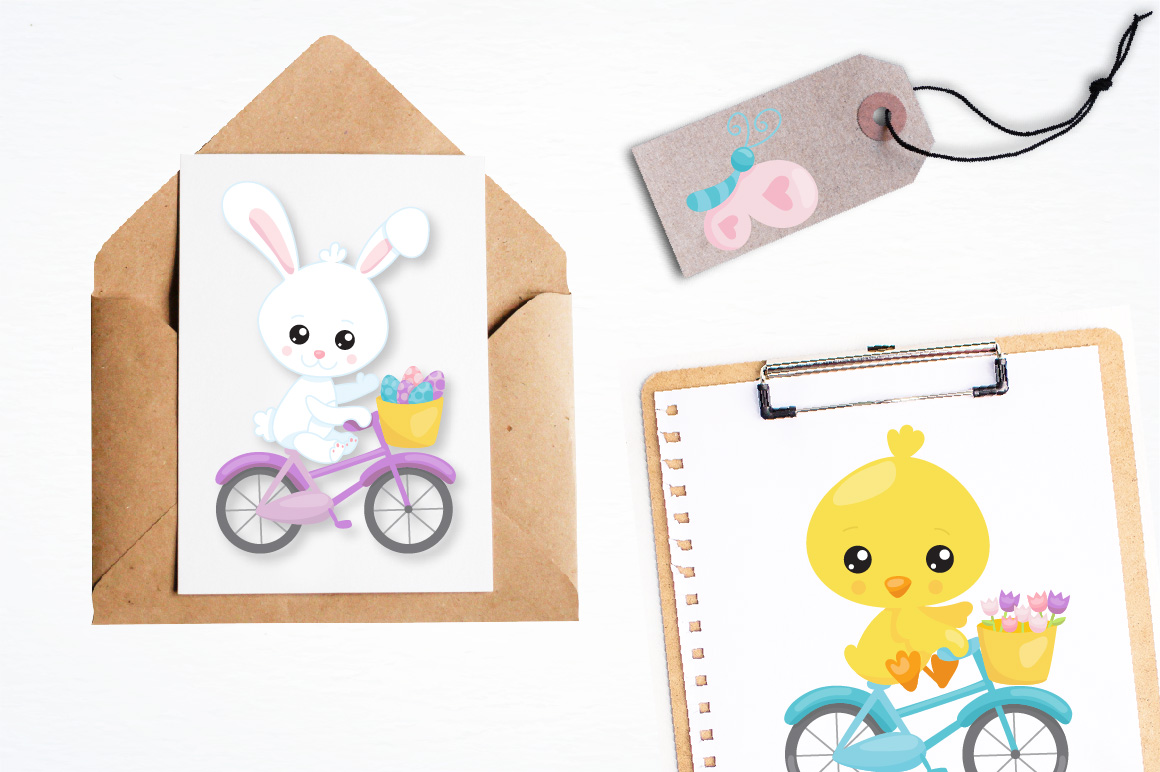 Print on Demand: Easter Ride Graphic Illustrations By Prettygrafik - Image 4
