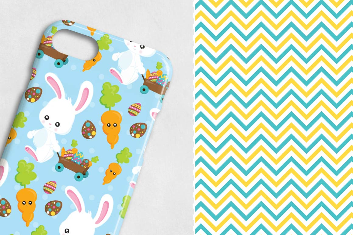 Print on Demand: Easter Graphic Patterns By Prettygrafik - Image 3