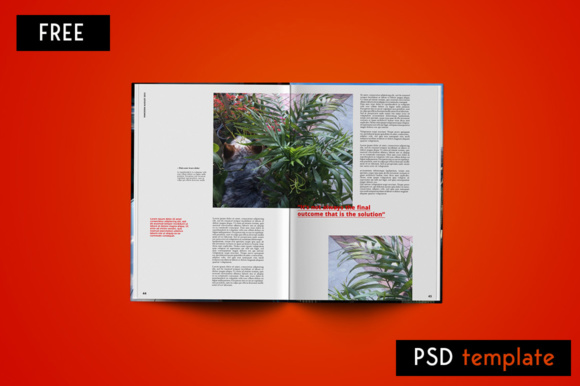 Editorial Magazine Graphic Print Templates By Creative Fabrica Freebies - Image 3
