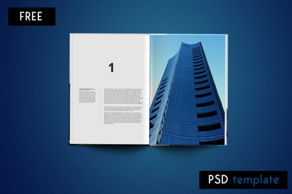 Editorial Magazine Graphic Print Templates By Creative Fabrica Freebies - Image 4