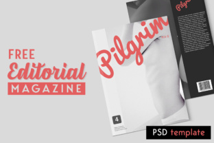 Editorial Magazine Graphic Print Templates By Creative Fabrica Freebies