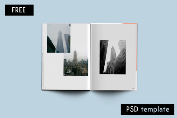 Editorial Magazine Graphic Print Templates By Creative Fabrica Freebies - Image 5
