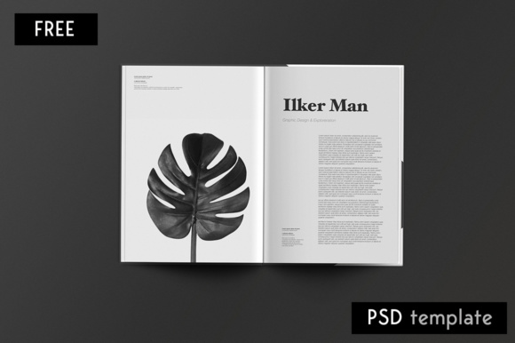 Editorial Magazine Graphic Print Templates By Creative Fabrica Freebies - Image 7