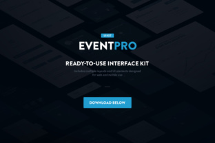Event Pro UI Kit Graphic By Creative Fabrica Freebies