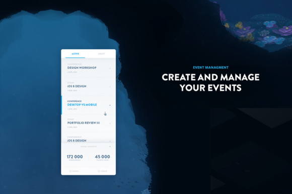 Event Pro UI Kit Graphic UX and UI Kits By Creative Fabrica Freebies - Image 5