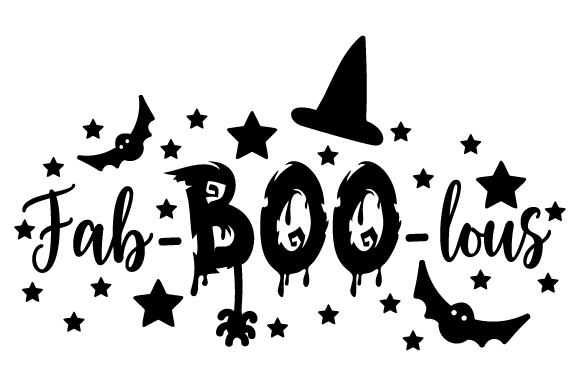 Download Free Fab Boo Lous Svg Cut File By Creative Fabrica Crafts Creative for Cricut Explore, Silhouette and other cutting machines.