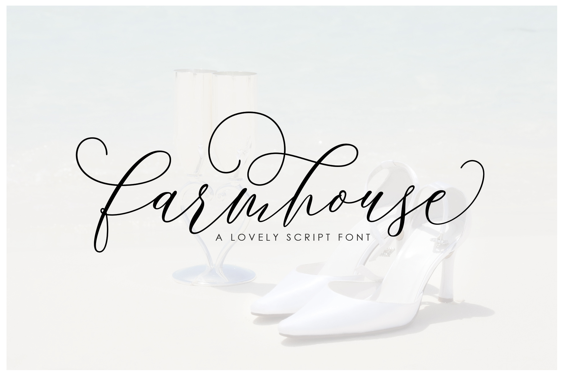 Print on Demand: Farmhouse Script & Handwritten Font By Moriztype
