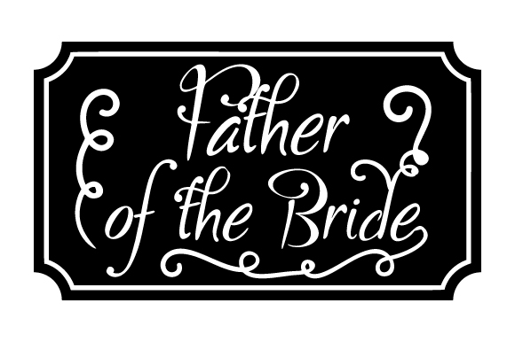 Download Free Father Of The Bride Svg Cut File By Creative Fabrica Crafts Creative Fabrica for Cricut Explore, Silhouette and other cutting machines.