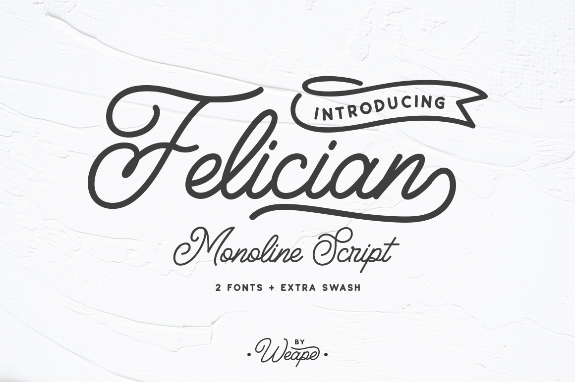 Felician Font By Weape Design