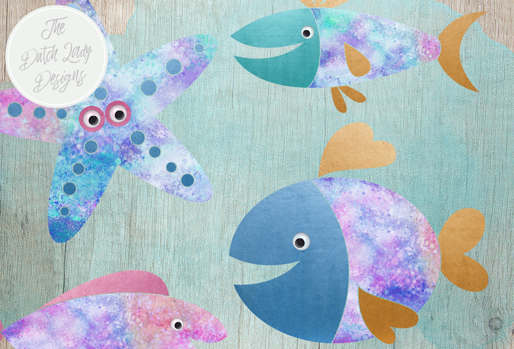 Print on Demand: Fish Clipart Set Graphic Illustrations By daphnepopuliers - Image 5