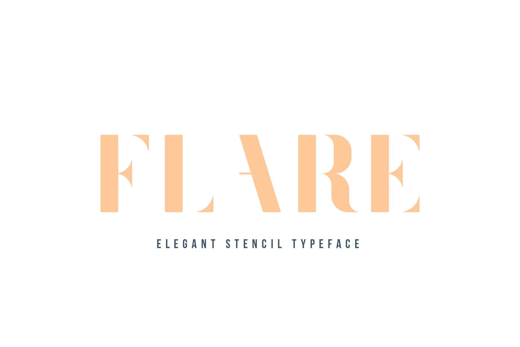 Print on Demand: Flare Sans Serif Font By Mike Hill